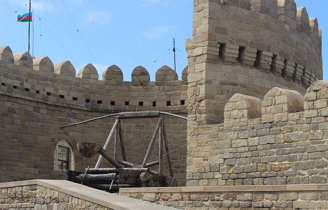Zamek w Baku zwiedzanie